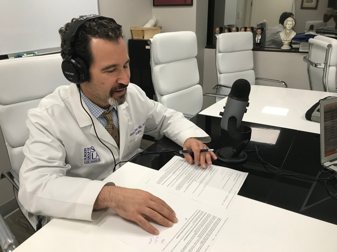 Dr. Cohen from Gross Anatomy Podcast